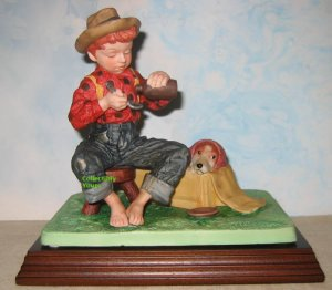 Norman Rockwell MYSTERIOUS MALADY Figurine, Museum Collections, MIB