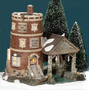 ST. IVES LOCK HOUSE, Dept. 56 Dickens, 58496, retired, MIB