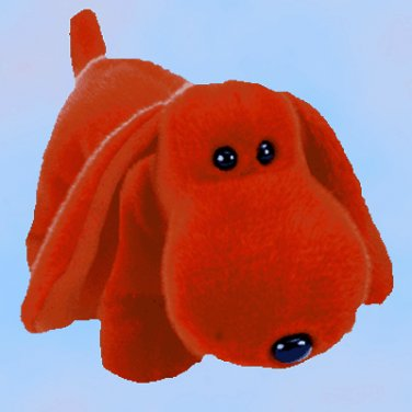 NEW (6) Ty Beanie Buddies ROVER The Red Dog,  9305