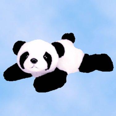 NEW (6) Ty Beanie Buddies PEKING The Panda,  9310