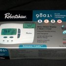Robertshaw 9801i  HUMIDITY Thermostat 1H 1C GAS /  ELECT / OIL /  HEAT PUMP