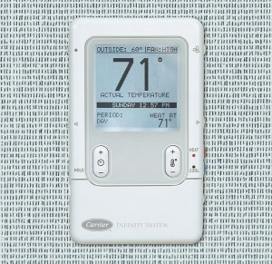 carrier infinity control thermostat manual