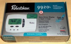 Robertshaw Invensys 9920i Thermostat 2HT 2CL Heat pump