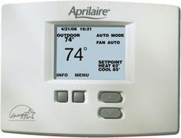 aprilaire 8570 programmable multistage thermostat. Black Bedroom Furniture Sets. Home Design Ideas