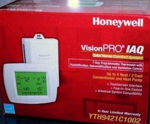 Honeywell VisionPRO IAQ YTH9421C1002  Thermostat Version  #  3