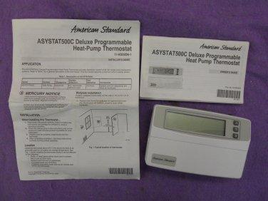 AMERICAN STANDARD ASYSTAT500C Heat Pump Thermostat