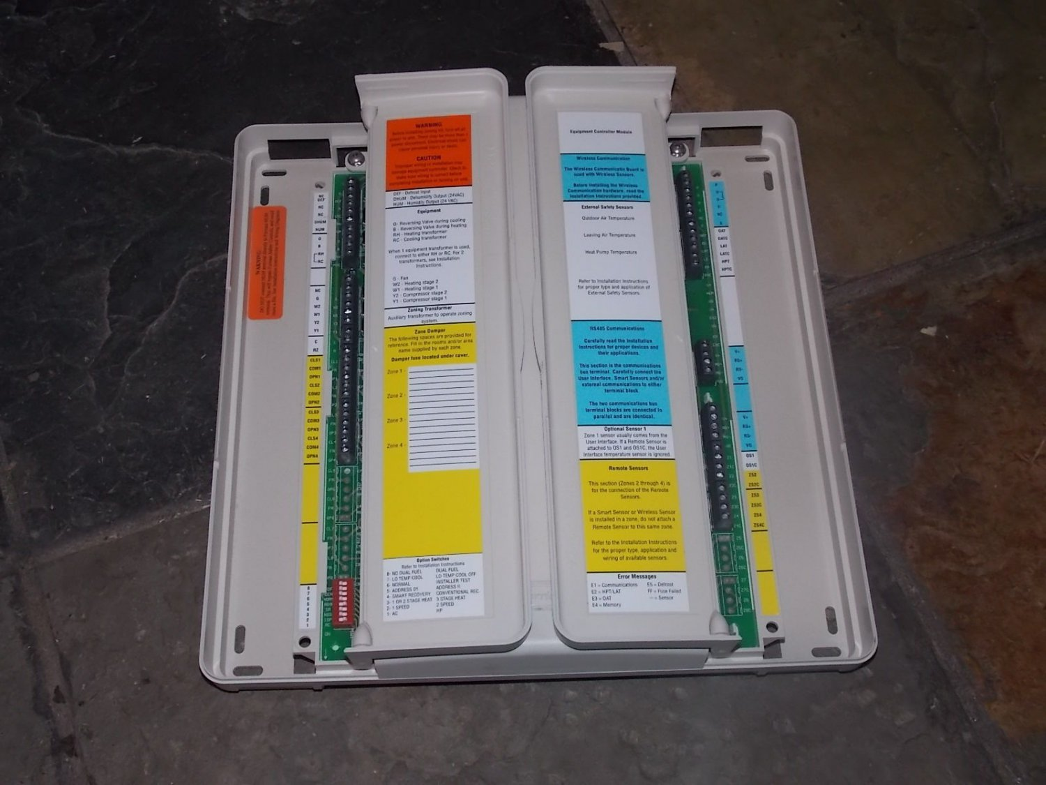 carrier zone control board. carrier 4 zone control board brand new 1pzonecc4eqcsa zonecc4eqcsa zone controller 2