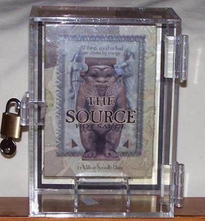 The Source Hot Sauce With Display Box