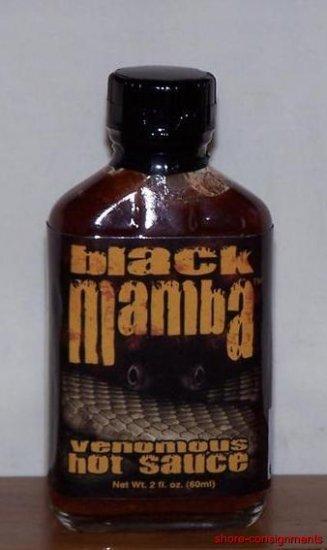 Black Mamba Venomous Hot Sauce 2oz