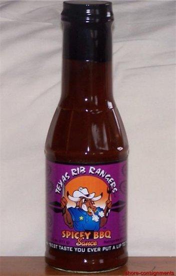 Texas Rib Rangers Spicey BBQ Sauce 14.5oz