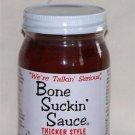 Bone Suckin' BBQ Barbecue Sauce - Thicker Style 16oz