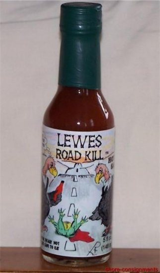 Roadkill Hot Sauce - Lewes 5oz