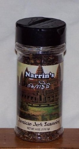 Narrin's Jamaican Jerk Seasoning 6oz Bottle