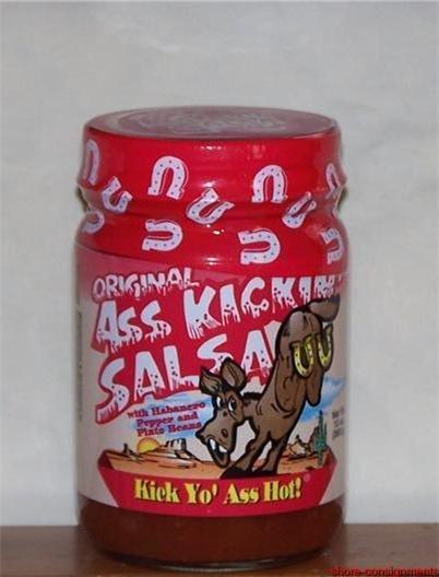 Ass Kickin' Salsa - Original Kick Yo' Ass Hot! 13oz