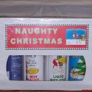 Naughty Christmas Mistletoe 4 Pack Hot Sauce Gift Box