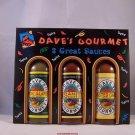 Dave's Gourmet Insanity Hot Sauce 3 Great Sauces