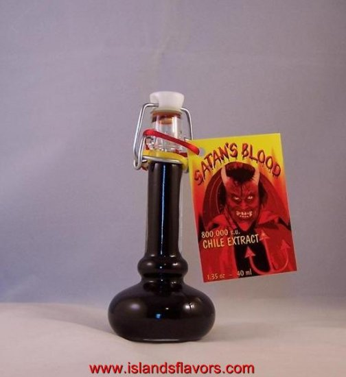 Satan's Blood Hot Sauce Chili Extract 1.35 oz