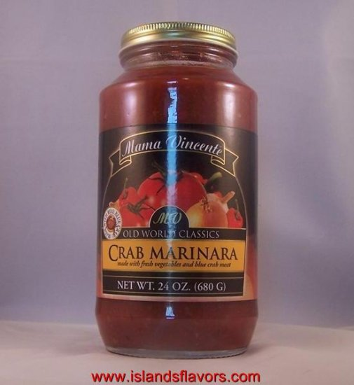 Mama Vincente Crab Marinara 24oz