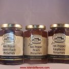 Robert Rothschild 3pk Hot Pepper Gourmet Preserves