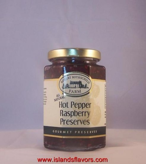 Robert Rothschild Hot Pepper Rasberry Gourmet Preserves