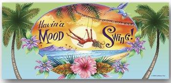Beach Towel Mood Swing Tropical Palm Trees