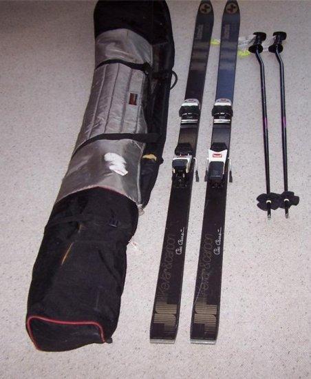 Lacroix espace Snow Skis 195cm used good condition