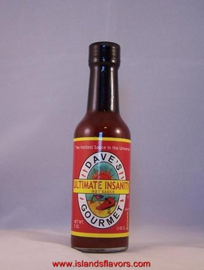 Dave's Gourmet Ultimate Insanity Hot Sauce 5oz