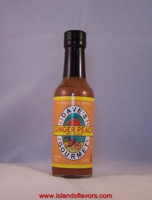 Dave's Gourmet Ginger Peach Hot Sauce - 5oz