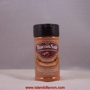 J&D's Bacon Salt ORIGINAL Flavor 2oz  Low Sodium