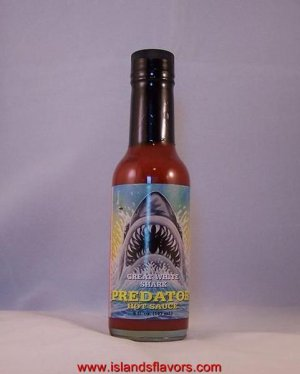 Predator - The Great White Shark Hot Sauce 5oz