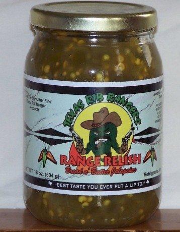 Texas Rib Rangers Range Relish Bread Butter Jalapeno