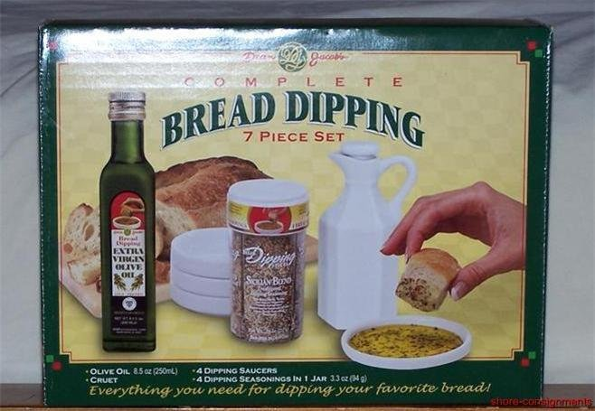 Dean Jacob's Complete 7 Piece Bread Dipping Set