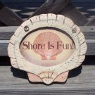 SHORE IS FUN Tropical Tiki Beach Bar Sign