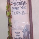 Outhouse If You Sprinkle When you Tinkle New Wood Sign