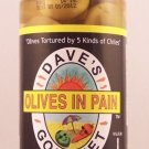 Dave's Gourmet Olives in Pain Spicy Chilies