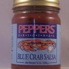 Blue Crab Salsa 12oz Jar Original Flavor Seafood