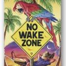 No Wake Zone Tropical Beach Towel