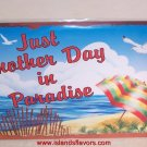 Just Another Day In Paradise Tropical Beach Bar Sign