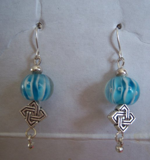 Greek Goddess Earrings-Turquoise