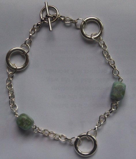 Turquoise Squares Bracelet