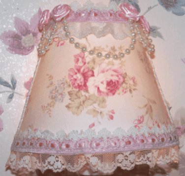 NEW Beautifully Sweet & Dainty Pink Roses NIGHT LIGHT