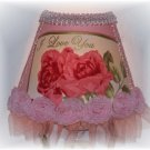 """I Love You""~Pink Roses Night Light~Great Gift!"