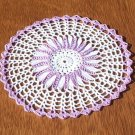 Wood Violet Hand Crochet Doily - **NEW**