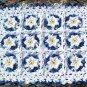 Denim & Daisies Hand Crochet Doily - **NEW**