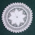 Prairie Star Hand Crochet Doily - **NEW**