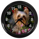 Quality YORKSHIRE TERRIER Dog Wall Clock PERSONAILZE IT