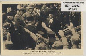 Propaganda. Hindenburg. Potsdam