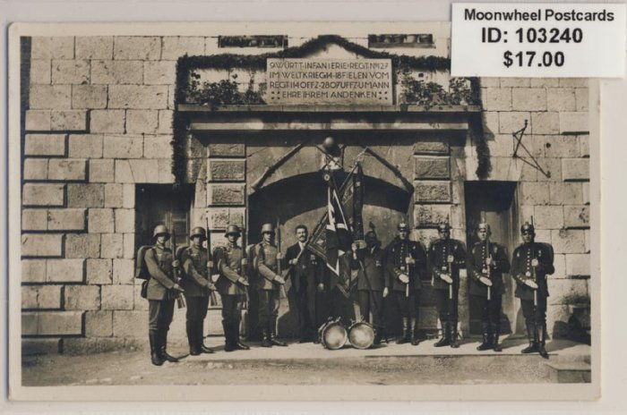 Regimental Day 1934. Regiment 127 i Ulm