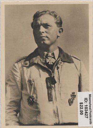 Knighs Cross Winner Oberstleutnant Oesau. Luftwaffe