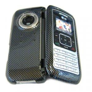 LG VX9900 env Snap-On Hard Cover Case Carbon Fiber Decal